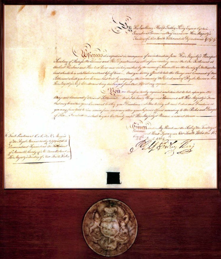 Menzies Commission (1804)