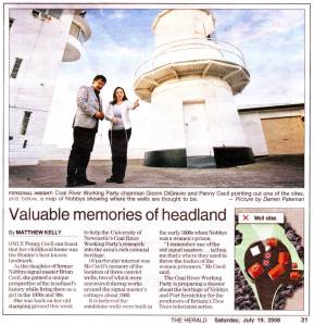 Valuable memories of headland by Matthew Kelly
