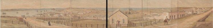 John Rae 1849 Panorama