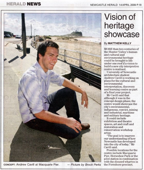 Vision of heritage showcase