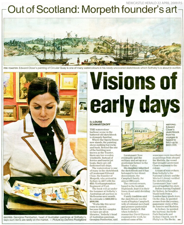 Newcastle Herald 22 April 2009 p.5