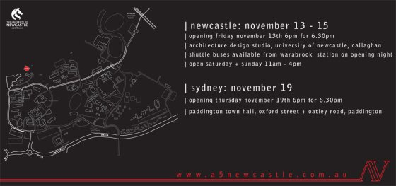 In Transit - University of Newcastle Final Year Architecture Exhibition 2009