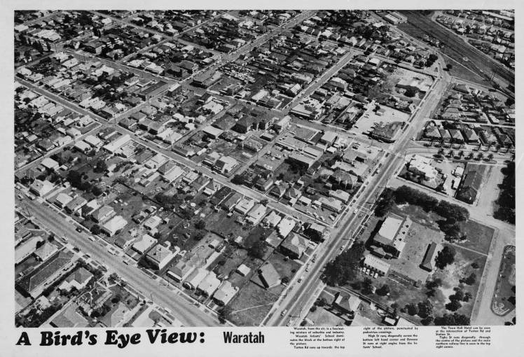 A Bird S Eye View Of Newcastle And Suburbs 1974 Hunter Living Histories