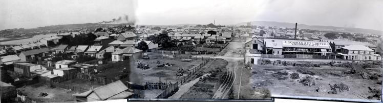 Wickham Panorama Circa 1906.