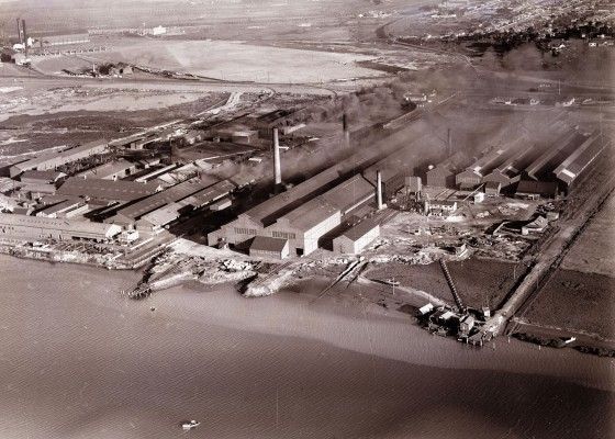 Newcastle aerial, 1935 (Image 65 Courtesy of Phillip Warren)