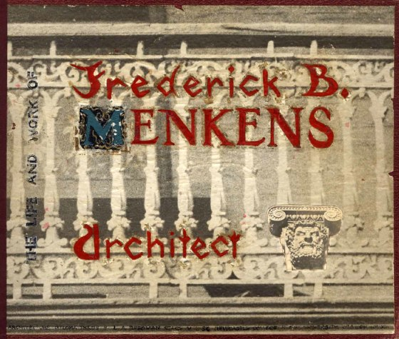 Front cover of Les Reedman's personal copy of the Menkens Thesis (1956)