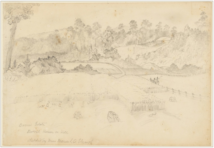 1840 Booral Estate (Courtesy of State Library of NSW)