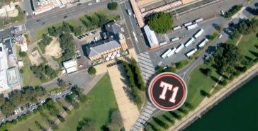 T1-Beginning at roundabout at bottom of Watt Street, site of original Wharf.