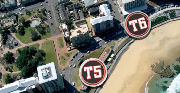 T5 Shortland Esplanade to T6