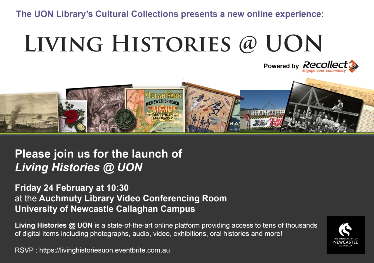 Living Histories @ UON Invite