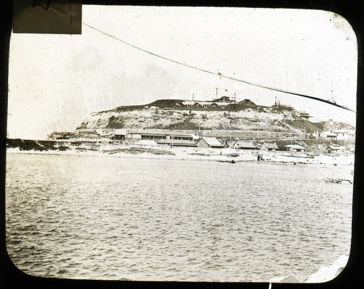 Fort Scratchley, Newcastle, NSW. From the Mr. E. Braggett Collection (University of Newcastle)