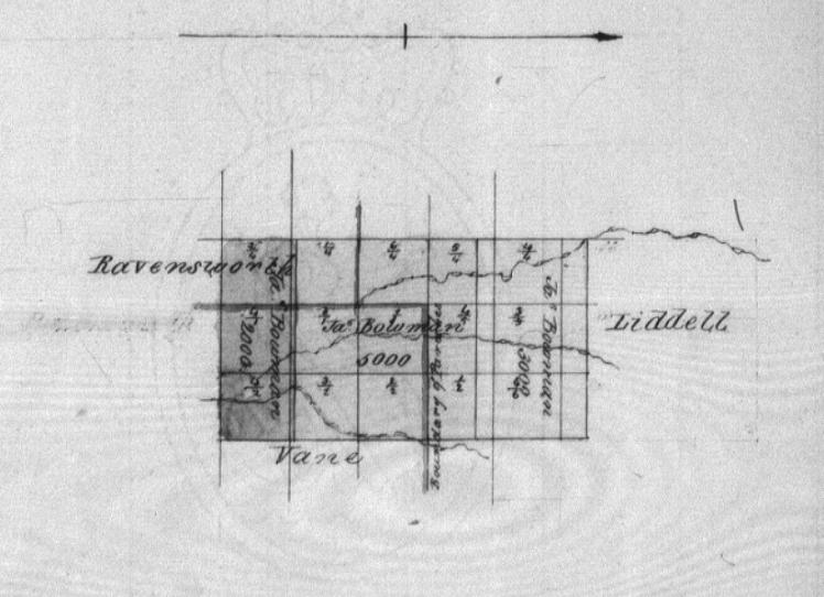 Ravensworth fraction map